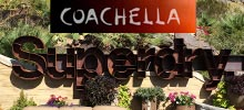 Superdry Sign by SigntechUSA for Coachella Music Festival Exhibit