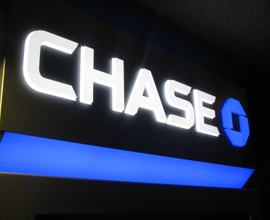 Chase Bank Sign