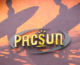 PacSun Sign